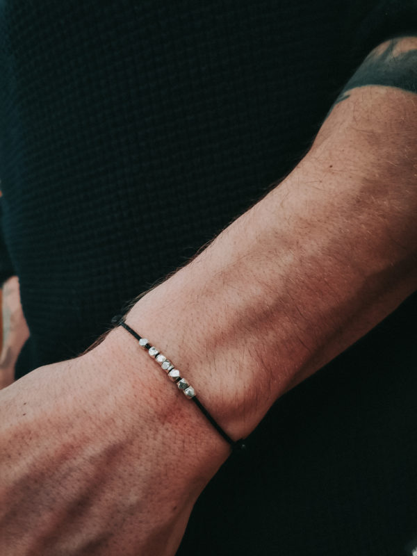 Bracelet cordon Pépites Colayco Homme
