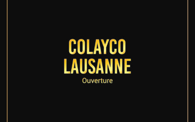 Colayco LAUSANNE | 26.10.2019