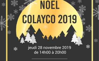 Noël Colayco 2019| jeudi 28 novembre