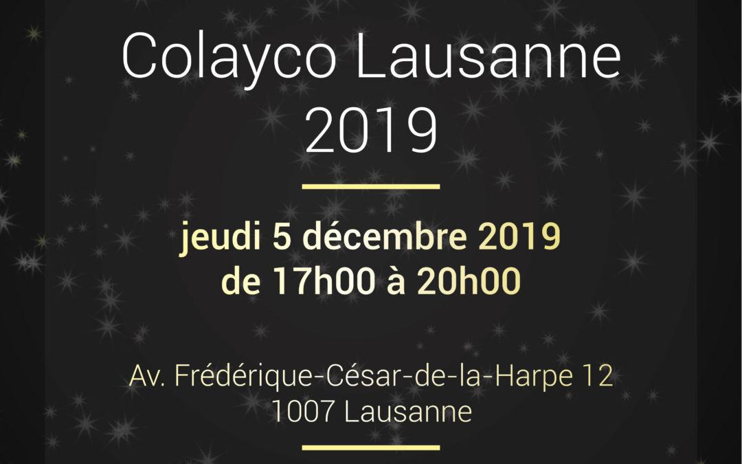 Noël Colayco Lausanne 2019| jeudi 05 décembre