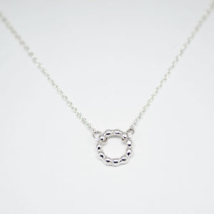 Collier cercle billes mini colayco