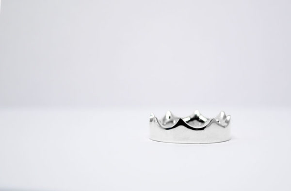 Bague Crown homme Colayco Argent