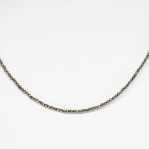 Mini Pyrites Collier